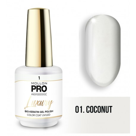 Vernis permanent Luxury 8ml- Coconut 01