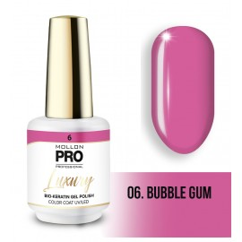 Vernis permanent Luxury 8ml Bubble gum 06