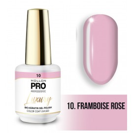 Vernis permanent Luxury 8ml Framboise rose 10