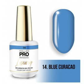Vernis permanent Luxury 8ml Bleu Curacao 14