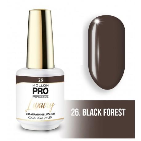 Vernis permanent Luxury 8ml Black Forest 26