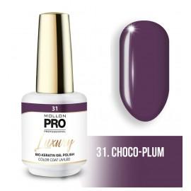 permanent nagellak Luxury 8ml Choco-Plum 31