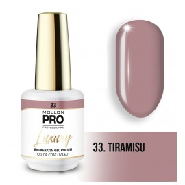 Vernis permanent Luxury 8ml Tiramisu 33