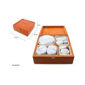 Coffret pierres de Marbre froide 20 unités