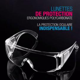 Beschermende bril, antiprojectie