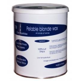 Blonde afpelbare hars potten van 800gr