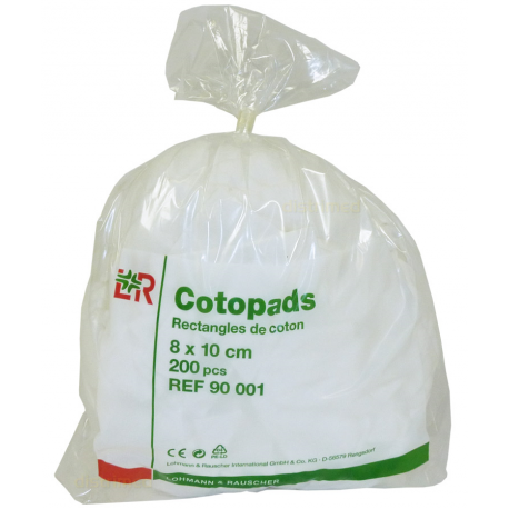 Cotopad L & R - Rectangle 8 x 10 cm