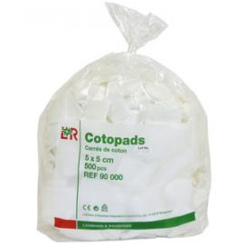 Cotopad L & R - Carrés 5 x 5 cm