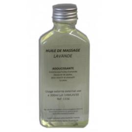 Huile de massage à la lavande