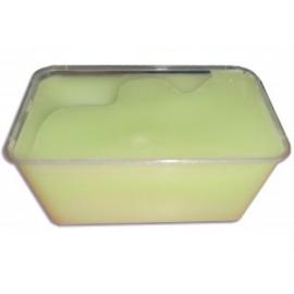 Groene paraffine met lelietjes-van-dalen geur
