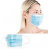 Masques de protection chirurgicaux jetables élastiques (paquets de 50 pièces)